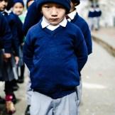 Visita a un colegio en Pokhara, Nepal.