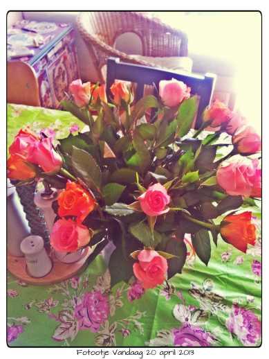 Mooie rozen van mijn lief