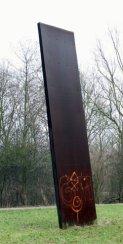 graffiti in het landschap