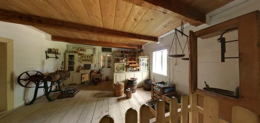 Muzeum Wsi Kieleckiej - Sklep wiejski