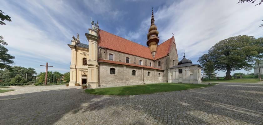 Kościół pocysterski w Koprzywnicy