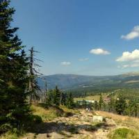 Czerwonym szlakiem przez Karkonosze - dzień II