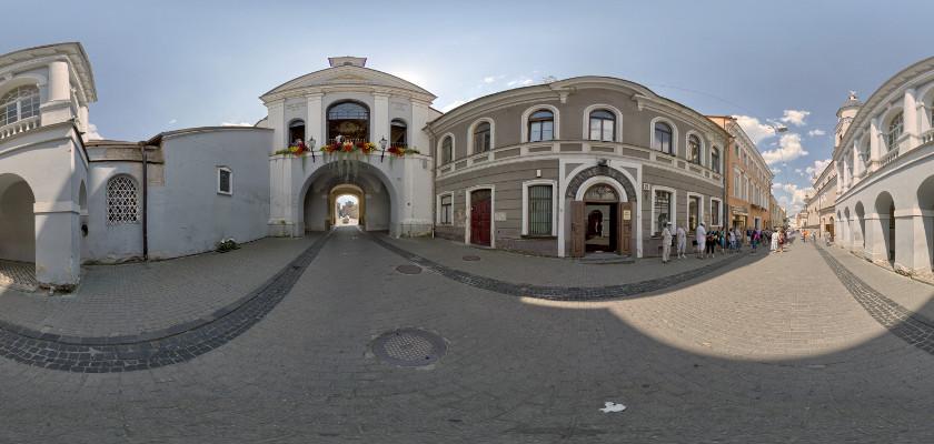 Ostra Brama na Starym Mieście w Wilnie