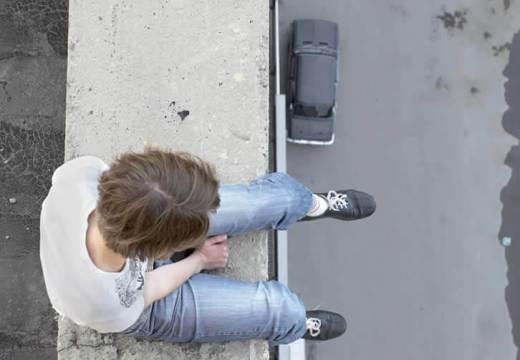 Escenificación de un suicidio