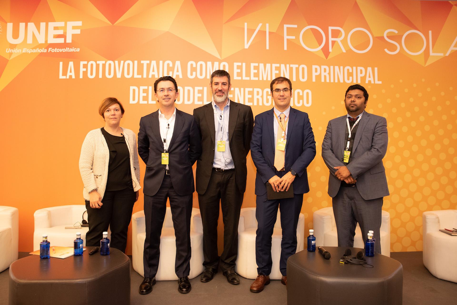 VI Foro Solar - UNEF Fotoplat