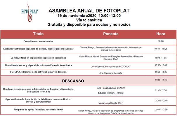 Asamble Socios FOTOPLAT 2020