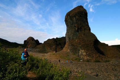 Kolumny skalne Hljóðaklettar