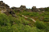 Skalne miasto Dimmuborgir