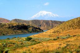 Krajobrazy na południe od Erewania