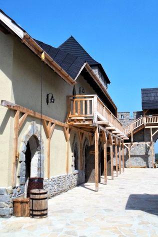 Warownia Inwałd Park Średniowieczny