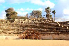 Cezarea - wykopaliska z czasów rzymskich i hipodrom