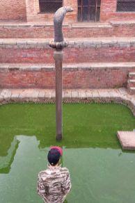 Bhaktapur - Pałac Pięćdziesięciu Pięciu Okien