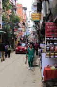 Kathmandu - dzielnica Thamel