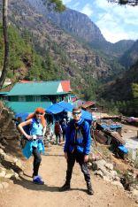 Phakding - granica Parku Narodowego