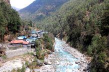 granica parku - Namcze Bazar