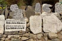 Namcze Bazar - granica Parku Narodowego