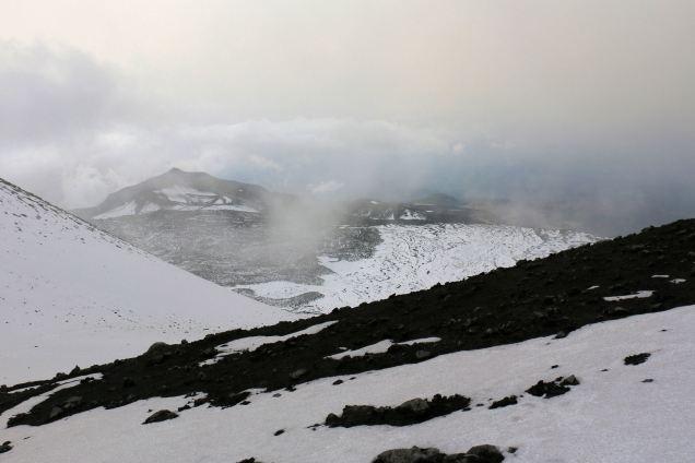 podejście na Etnę