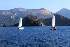 Rejs między wyspami Vulcano i Lipari