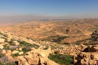 Widoki ze szczytu Góry Nebo