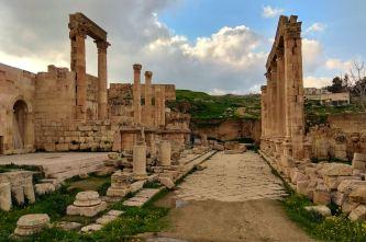 Cardo Maximus - północna część