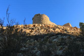 Zamek Shobak z zewnątrz