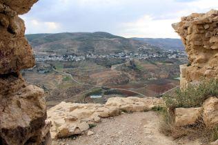Zachodnia część zamku Al-Karak