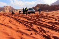 pojazdy na pustyni