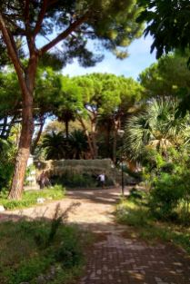 Park i Villa comunale Giuseppe Mazzini