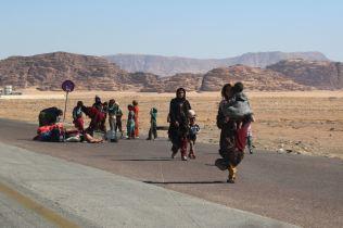 Przejazd z Wadi Rum do Wadi Musa