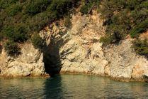 wschodnie i południowe wybrzeże Lefkady