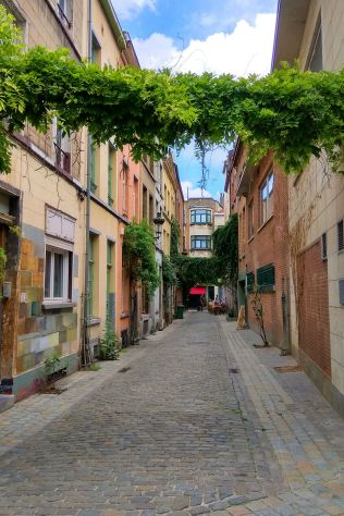 uliczki ścisłego centrum