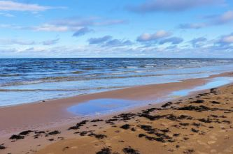 Jurmała - plaża w dzielnicy Balduri