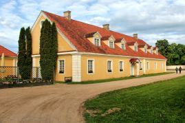 Pałac Rundale - wschodnia strona