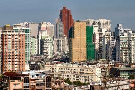 Fortaleza do Monte - widoki na miasto