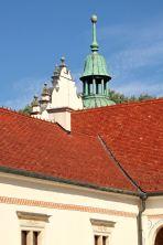 Baranów Sandomierski - dziedziniec zamku