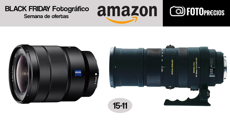 Black Friday fotográfico: 15-11.