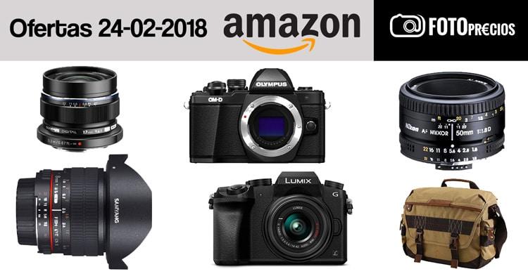 Ofertas fotográficas del 24 de enero.