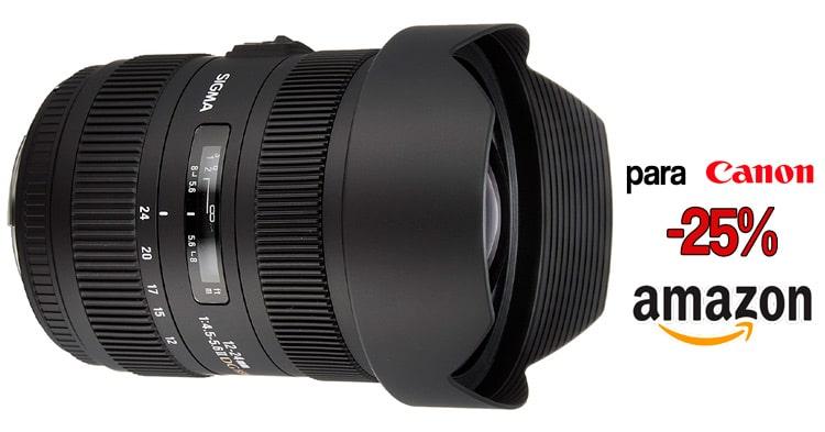 Sigma 12-24mm Canon oferta