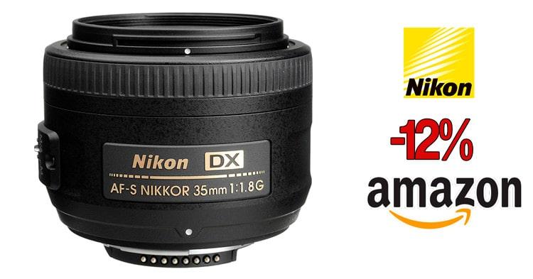 Nikon 35mm f/1.8 DX oferta.