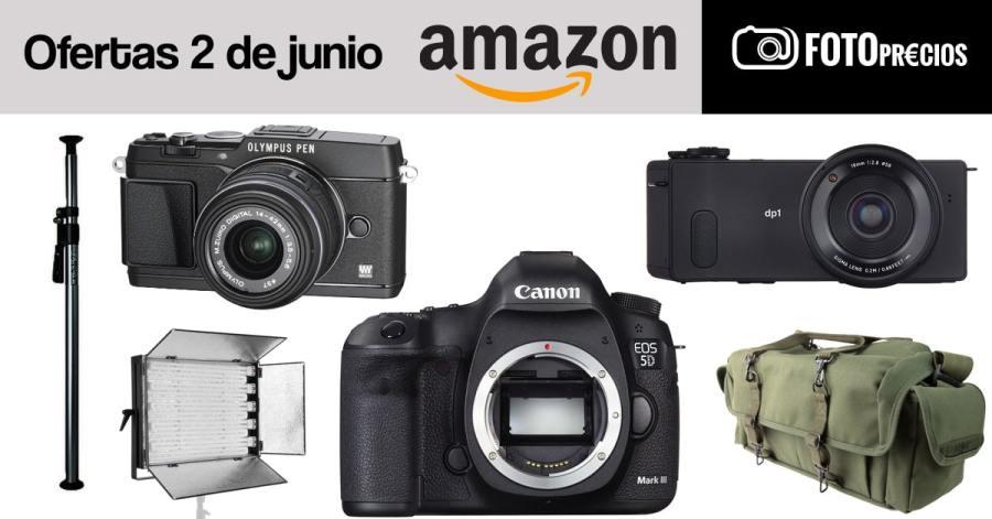 Ofertas fotográficas del 2 de junio en Amazon.