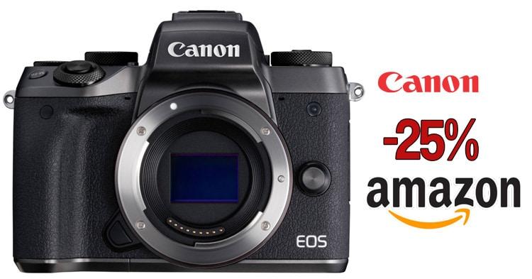 Canon EOS M5 precio mínimo.