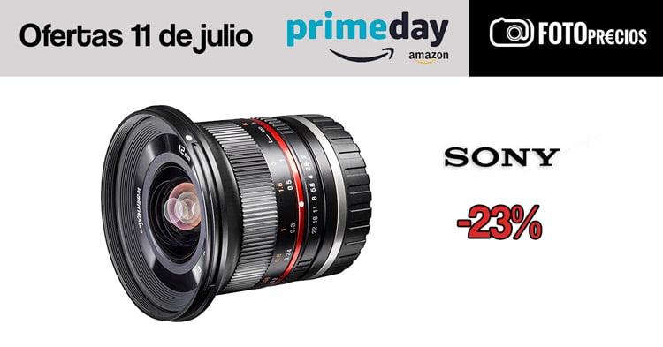 Walimex 12mm f/2 para Sony en oferta.