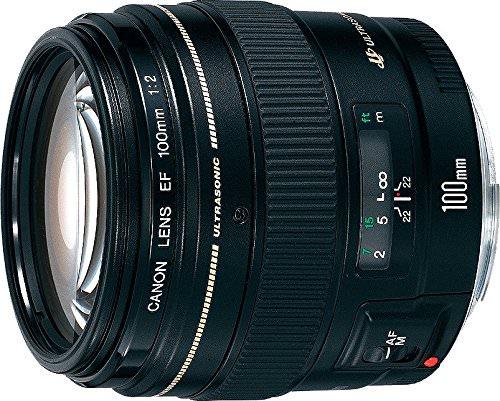 Canon EF 100mm f/2 a precio mínimo histórico.