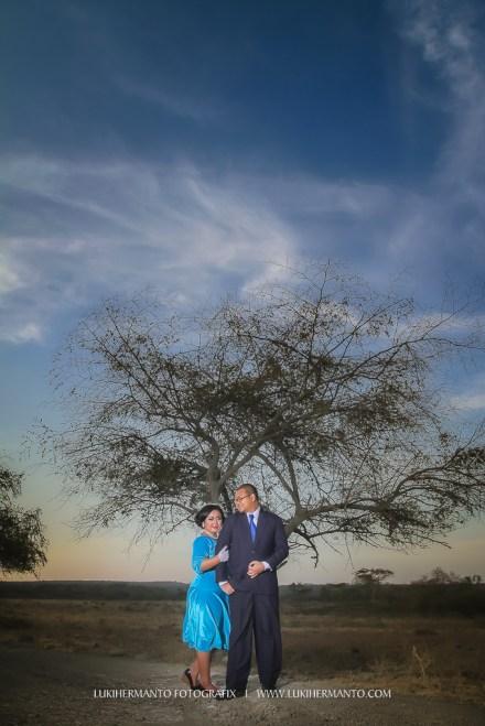 Prewedding Baluran romantis