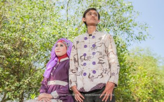 Foto prewedding batik