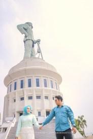 foto prewedding di patung java meha java mahe