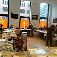 Erster #Guckma Collage-Workshop mit @kokuku erfolgreich durchgeführt.