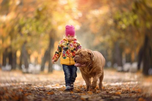 Лучшие друзья: фото детей и их больших собак « FotoRelax