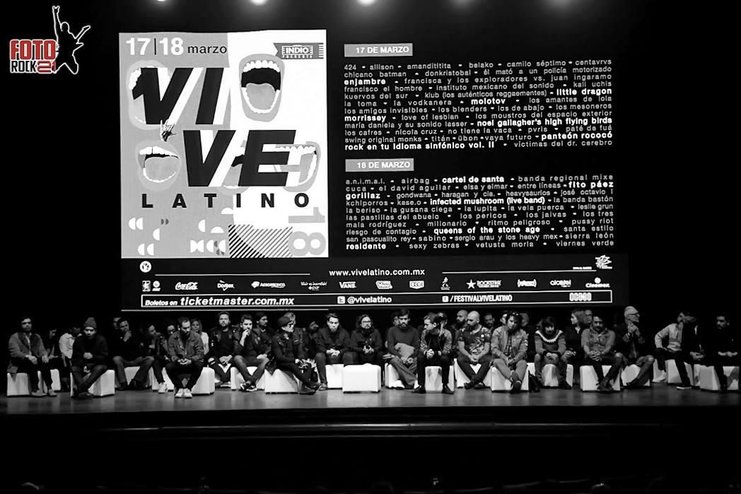 Rueda de Prensa Vive Latino 2018