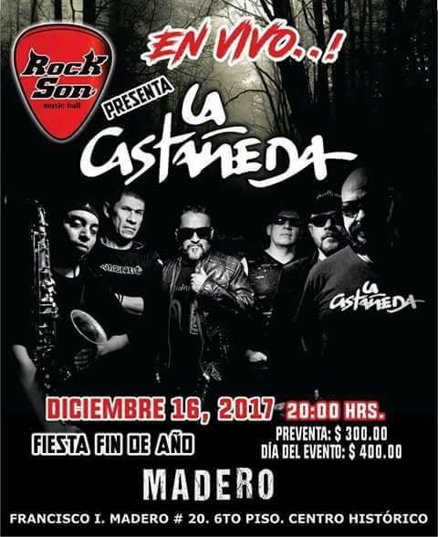 La Castañeda en Rock Son Madero